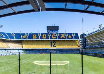 Boca Juniors Buenos Aires football stadium