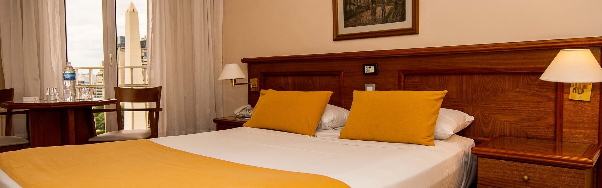Habitación doble con vistas Hotel Bristol Buenos Aires