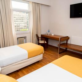 Twin room Hotel Bristol Buenos Aires
