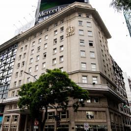 Facade Hotel Bristol in Buenos Aires