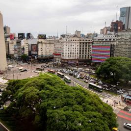 Plaza 9 julio center Buenos Aires