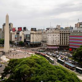 9 julio square Buenos Aires